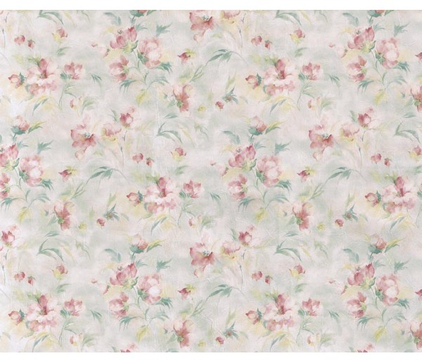 Floral Floral Wallpaper 23447 S.A.MAXWELL CO.