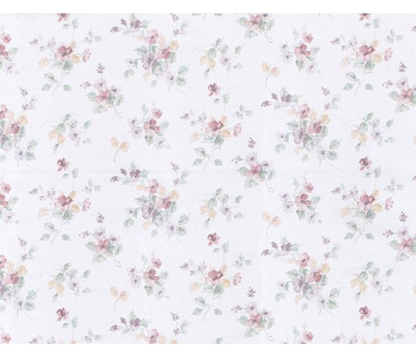 Floral Floral Wallpaper 23452 S.A.MAXWELL CO.