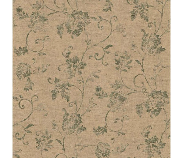 Floral Floral Wallpaper 23558 S.A.MAXWELL CO.