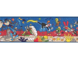 Prepasted Wallpaper Borders - Kids Wall Paper Border 2374 LT