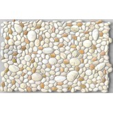Wall Panels: Wall Panels for Interior Wall Decor - Textured PVC 3D Wall Tile (37x18 in, 4.8 sq.ft.) - 242 PP
