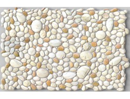 Wall Panels for Interior Wall Decor - Textured PVC 3D Wall Tile (37x18 in, 4.8 sq.ft.) - 242 PP