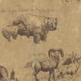 Animals Wallpaper: Western Roundup Wallpaper 58349
