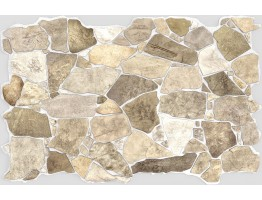 Wall Panels for Interior Wall Decor - Textured PVC 3D Wall Tile (37x18 in, 4.8 sq.ft.) - 245 WB