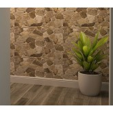 Wall Panels Wall Panels for Interior Wall Decor - Textured PVC 3D Wall Tile (37x18 in, 4.8 sq.ft.) - 244WG