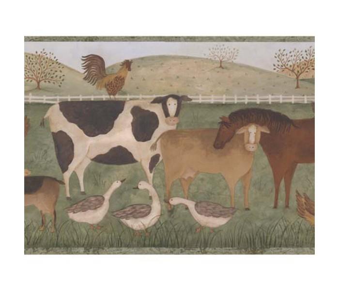 Animal Wallpaper Borders: Animals Wallppaer Border 245B57488