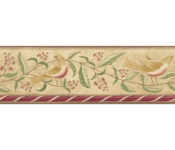 Birds  Wallpaper Borders: Diane Ulmer Perdersen Wallpaper Border 250B69208