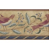 Birds  Wallpaper Borders: Birds Wallpaper Border 250B69211