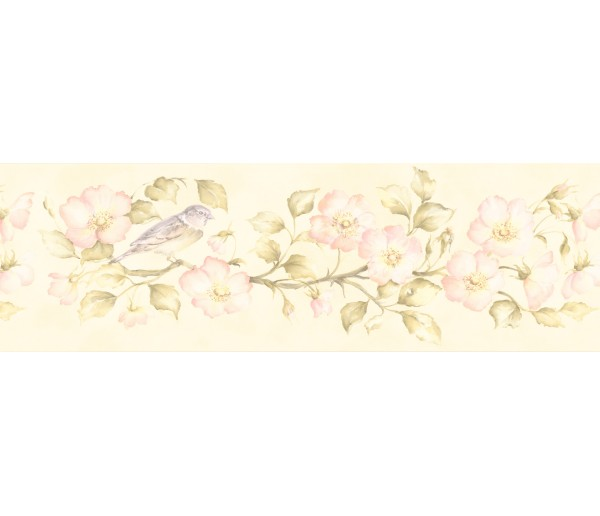 Garden Borders Floral Wallpaper Border 253B59162 Fine Art Decor Ltd.