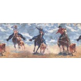 Clearance: Horses Wallpaper Border 2645 IN