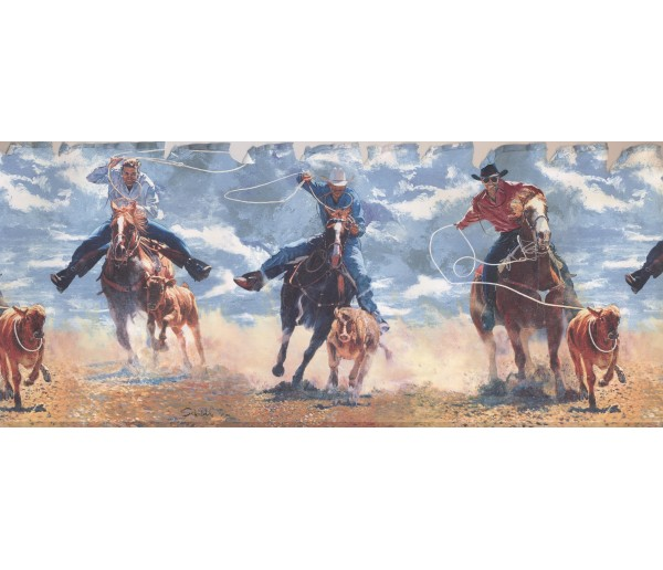 Clearance Horses Wallpaper Border 2645 IN York Wallcoverings