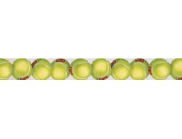 Prepasted Wallpaper Borders - Cricket Balls Wall Paper Border 2805 IN