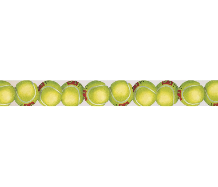 Clearance: Cricket Balls Wallpaper Border 2805 IN