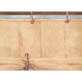Prepasted Wallpaper Borders - Contemporary Wall Paper Border 2837 BT