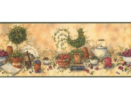 Kitchen Wallpaper Border 29158