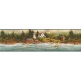 Lighthouse Wallpaper Borders: Light House Wallpaper Border 29171