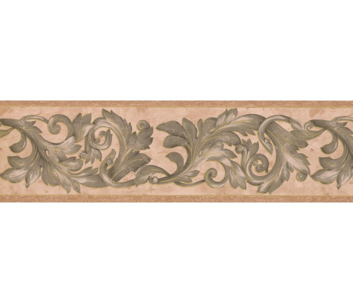 Vintage Wallpaper Borders: Damask Wallpaper Border 29423