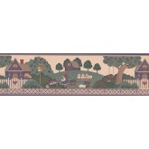 Clearance: Country Wallpaper Border 3015004