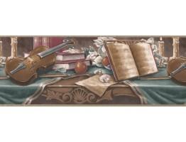 Prepasted Wallpaper Borders - Retro Wall Paper Border 30152 HA