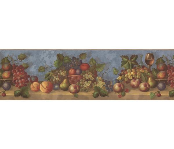 Garden Wallpaper Borders: Fruits Wallpaper Border 30503 WP