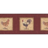 Clearance: Roosters Wallpaper Border 30706530