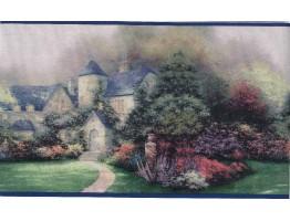 Thomas Kinkade Wallpaper Border 30882920