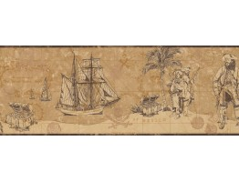 Nautical Wallpaper Border 3103 ZB