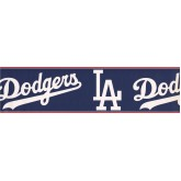 Baseball Wallpaper Borders: Dodgers Sports Wallpaper Border 3299 ZB