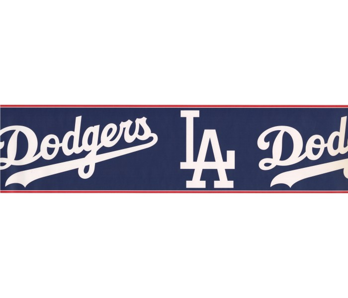 Baseball Wallpaper Borders: Dodgers Sports Wallpaper Border 3299 ZB