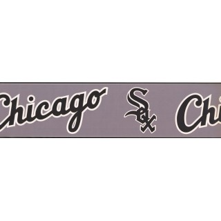 6 in x 15 ft Prepasted Wallpaper Borders - Chicago Sports Wall Paper Border 3314 ZB