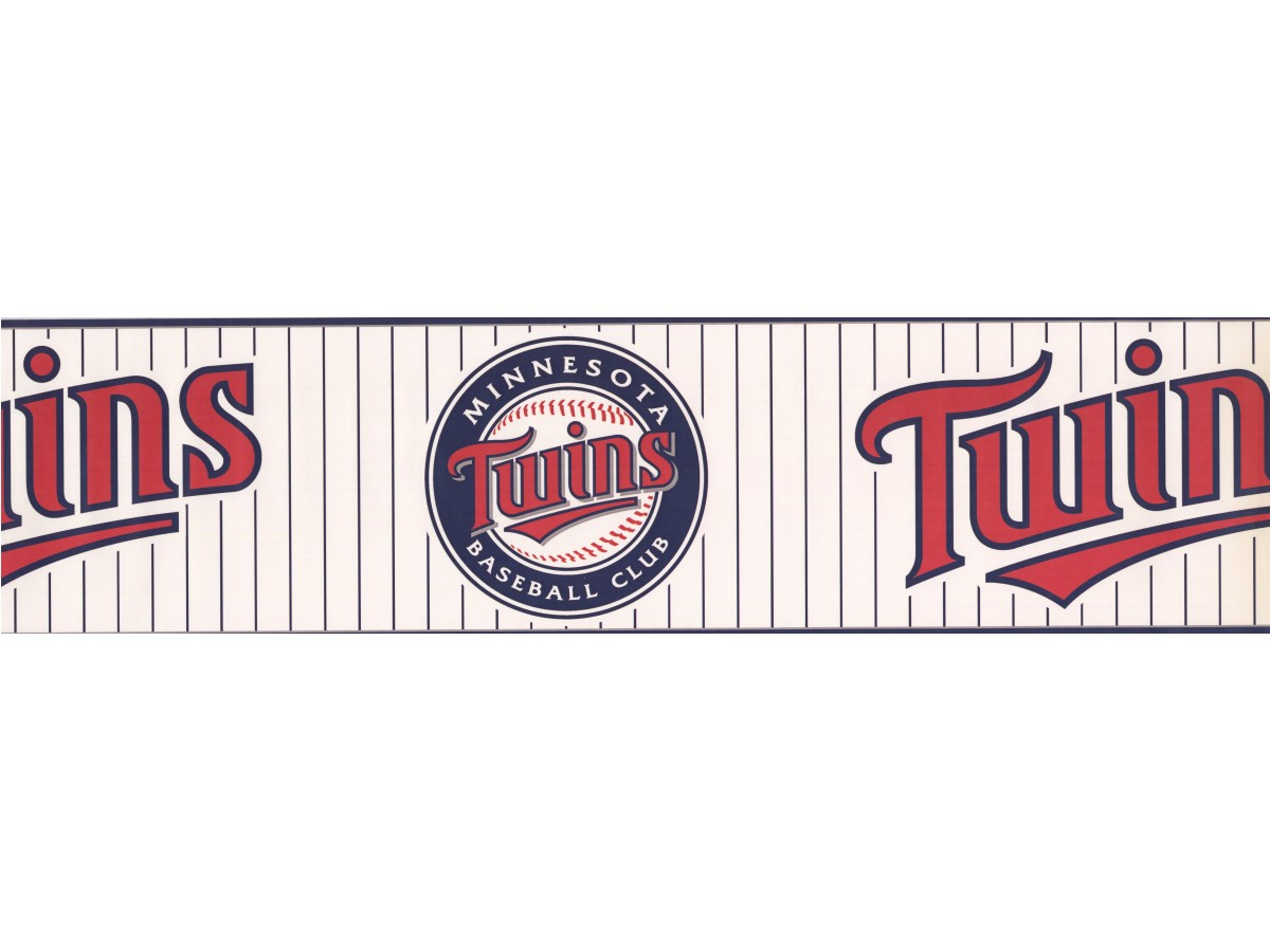 Baseball Wallpaper Borders : Twins Baseball Sports