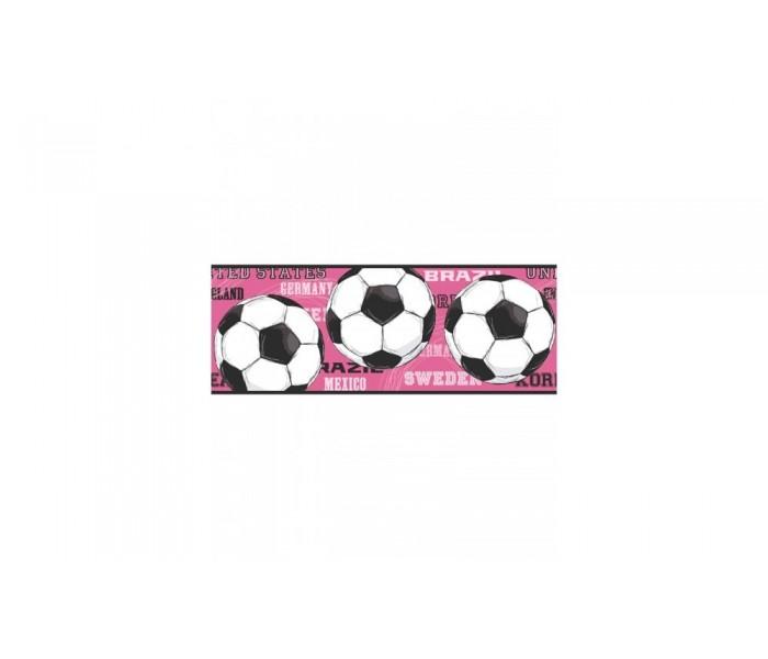 Sports Wallpaper Borders: Soccer Wallpaper Border 3737 JE