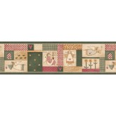 Kitchen Wallpaper Borders: Kitchen Wallpaper Border 3864 HRB