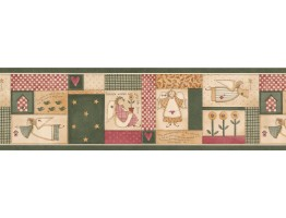 Kitchen Wallpaper Border 3864 HRB
