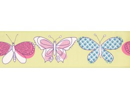 Prepasted Wallpaper Borders - Kids Wall Paper Border 4007 PW