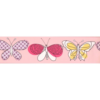 7 in x 15 ft Prepasted Wallpaper Borders - Kids Wall Paper Border 4010 PW