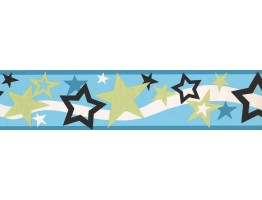 Prepasted Wallpaper Borders - Kids Wall Paper Border 4072 PW