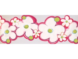 9 in x 15 ft Prepasted Wallpaper Borders - Kids Wall Paper Border 4091 PW