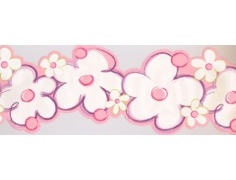 Prepasted Wallpaper Borders - Kids Wall Paper Border 4093 PW