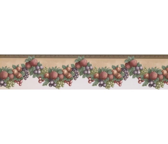 Garden Wallpaper Borders: Fruits Wallpaper Border 40946330