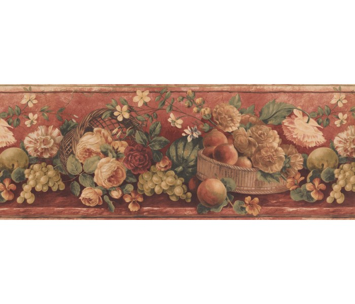 Garden Wallpaper Borders: Fruits Wallpaper Border 41776020