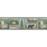 Country Wallpaper Borders: Country Wallpaper Border FDB03842