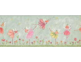 Prepasted Wallpaper Borders - Kids Wall Paper Border 4224 KZ