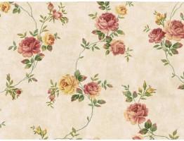 Floral Wallpaper 437KC
