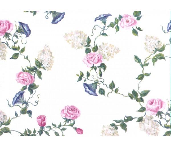 Floral Floral Wallpaper 4449bi York Wallcoverings