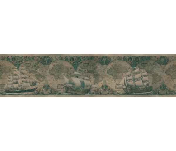 Sea World Borders Ship Wallpaper Border ON53524 Fine Art Decor Ltd.