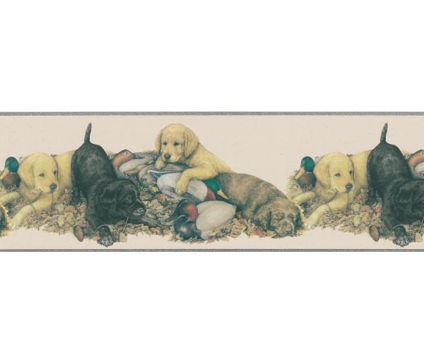 Dogs Dogs Wallpaper Border DU2081B
