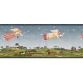 Prepasted Wallpaper Borders - Angel Wall Paper Border 238B53224