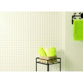 Wall Panels: Backsplash Tiles  - Decorative Thermoplastic Tile 18 X 24 Criss Crosshatch Silver