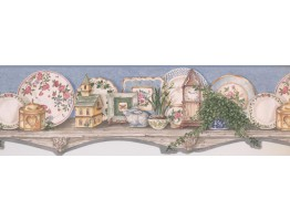 Kitchen Wallpaper Border 5227 SMBDC